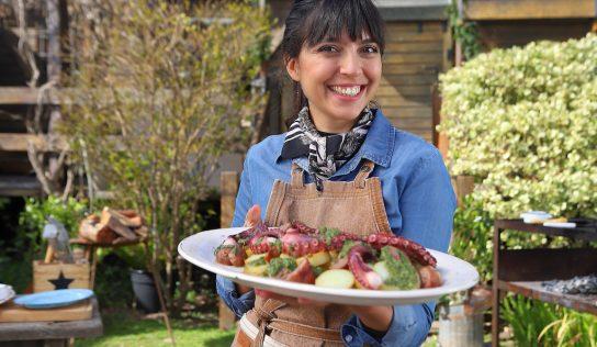 Amantes de la parrilla: Felicitas Pizarro vuelve a El Gourmet