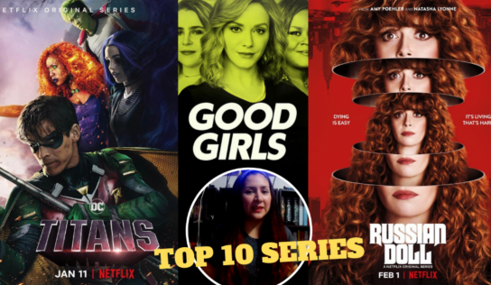 Mis Top 10 series de Netflix