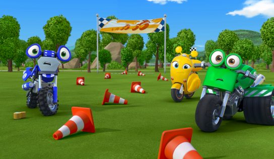 Discovery Kids enciende motores con Ricky Zoom